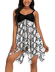 cheap -2021 new european and american large size split skirt swimsuit conservative and thin slim slim sweat-absorbent breathable skirt cross-border swimsuit