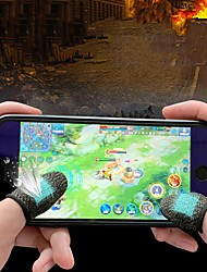 cheap -Anti-sweat Finger Cots Eating Chicken Finger Cots King Of Glory Mobile Games Peace Elite Touch Screen Gloves to play games Anti-sweat