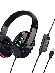 cheap -SOYTO SY733MV Gaming Headset USB Wired Ergonomic Design RGB Lights InLine Control for Apple Samsung Huawei Xiaomi MI  PC Computer Gaming
