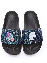 cheap -european and american new hot-selling hot style cartoon children's girls slippers sandals and slippers overseas non-slip outer wear fashion flip
