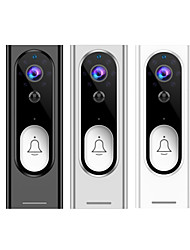 cheap -Tuya 1080P HD Video Doorbell Camera WiFi Wireless Doorbell Smart Home Door Bell Camera Outdoor Mini Video Intercom Two Way Audio