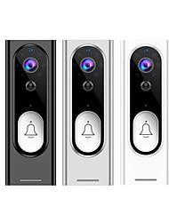 cheap -Tuya 1080P HD Video Doorbell Camera WiFi Wireless Doorbell Smart Home Door Bell Camera Outdoor Mini Video Intercom Two Way Audio