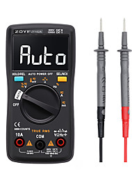 cheap -ZT102A Digitale multimeter 6000 telt Auto 113D Achtergrondverlichting AC / DC Voltmeter transistor tester Frequentie Diode Temperatuur