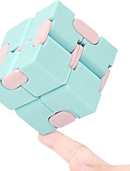 cheap -Infinity Cube Fidget Toy Stress Relieving Fidgeting Game for Kids and Adults,Cute Mini Unique Gadget for Anxiety Relief and Kill Time (Macaron Color)