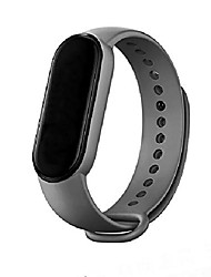 cheap -smartwatch band wristband compatible for xiaomi mi band 5 women men, silicone replacement fitness wristband and  sports wristband and fitness band wristband wristbands for xiaomi mi band 5