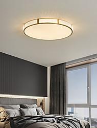 cheap -LED Ceiling Light b30/40/50 cm Geometric Shapes Flush Mount Lights Copper Metal Geometrical Brass LED Nordic Style 220-240V