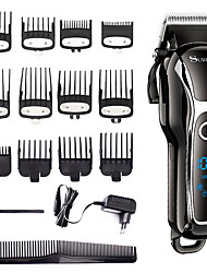 cheap -LCD Hair Clipper Alloy Knife Head Electric Clipper Household Hair Salon Electric Clipper Aluminum Caliper Set