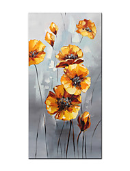 cheap -Oil Painting Handmade Hand Painted Wall Art Abstract Beautiful Flowers Home Decoration Decor Rolled Canvas No Frame Unstretched
