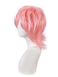 cheap -pengdong no shame bitch club cos lily xuandou pink short hair high temperature silk cosplay fake found goods