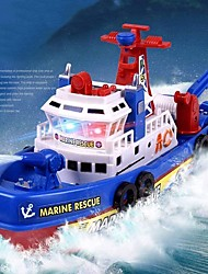 cheap -Bath Toy Boat , Pool Fire Boat Marine Rescue Ship Model, Kids Music Light Water Spray Electric Fire Boat Model, Great Holiday Birthday Gifts