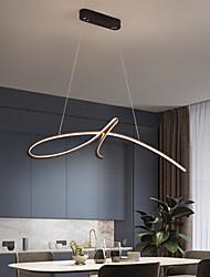 cheap -LED Pendant Light Modern Island Light Includes Dimmable Version 95cm Single Design Chandelier Aluminum Painted Finishes Artistic 110-120V 220-240V