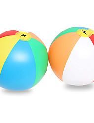 cheap -16 Rainbow Beach Ball Inflatable  Pool Ball  Beach Toys for Kids  2 Pack I Swimming Pool Toys  Ideal for Summer Water Fun Pool and Birthday Parties