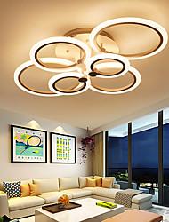 cheap -LED Ceiling Light Glow outward LED Ceiling Light 4/6/8-Light Flush Mount Lights Circle Design Modern Style Simplicity Acrylic 90W Living Room Dining Room Bedroom Light Fixture