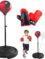 cheap -Punching Bag Set with Stand Adjustable Height Boxing Bag Set for 3-10 Years Old Kids Including Punching Ball with Stand Boxing Training Gloves Hand Pump and Adjustable Height Stand