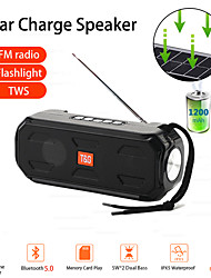 cheap -TG280 Bluetooth Speaker Portable Wireless Stereo bass Music Box TWS Outdoor Speaker Support TF/FM Radio/USB/AUX With flashlight