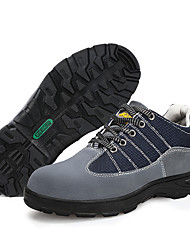 cheap -Safety Work Shoes Steel Toe Cap Trainers For Mens Warehouse Outdoor Toe Protective Wear Proof Non-slipping Booties Ankle Boots Summer Fall Spring