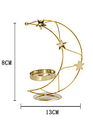 cheap -creative simple european-style modern golden metal candle holder xingyue candle holder holiday home decoration one shipment