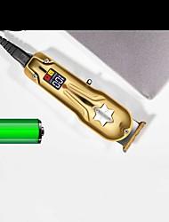 cheap -Electric Metal Oil-head Hair Clipper Smart LCD Electric Hair Clipper Hair Salon Trimming And Engraving Hair Clipper Razor
