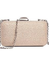 cheap -caiyue ladies satin glitter evening bag simple ladies party bag one-shoulder banquet bag dress bag