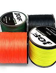 cheap -PE Braided Line / Dyneema / Superline 4 Strands Fishing Line 300M / 330 Yards PE 100LB 80LB 70LB Abrasion Resistant