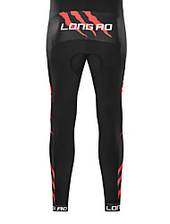 cheap -Men's Cycling 3/4 Tights Cycling Pants Summer Bike Bottoms Sports Black / Red Clothing Apparel Bike Wear Advanced Sewing Techniques