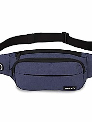 cheap -sinno large fanny pack for men women with 4-zipper pockets for outdoors running workout hiking casual traveling cycling dog walking fishing waist pack bag fits all kinds of phones