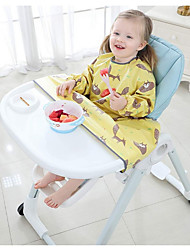 cheap -Baby's Children's Gowns Eat Independently Placemats Are Not Easy To Get Dirty Seat Cushions Baby Dining Chair Trays Leak-Proof Rice Bibs Blw