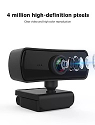 cheap -2K Webcam HD PC Camera Web Camera with Microphone Rotatable Cameras for Live Broadcast Video Calling Conference Work