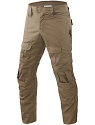 cheap -Men's Tactical Pants Tactical Cargo Pants Hiking Pants Trousers Waterproof Quick Dry Breathable Sweat wicking Autumn / Fall Spring Summer Solid Colored Camo / Camouflage Cotton Bottoms for Camping