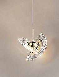 cheap -LED Pendant Light 20 cm Single Design Pendant Light Metal Artistic Style Stylish Painted Finishes LED Modern 220-240V