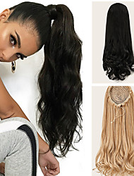 cheap -Ponytail Natural Wave Hair piece Clip In Hair Extension Ponytail Wig Accessory for Women