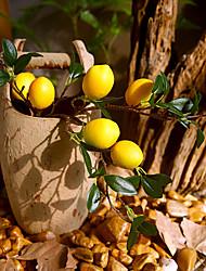 cheap -Artificial Flower Plastic Modern Tabletop Flower Lemon 53cm