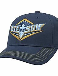 cheap -stetson eagle lettering cap men blue one size