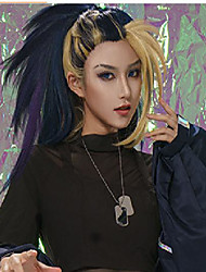 cheap -league of legends lol kda girl group akali character cos fake found goods
