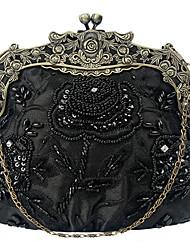 cheap -caiyue ladies hand bag beaded embroidered evening bag flower banquet cheongsam female bag dress female bag coin purse b106
