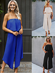 cheap -Women's Casual 2021 Original design does not infringe, peers do not steal Please download the picture compression package in the Good quality and good version, suitable for brand promotion Jumpsuit