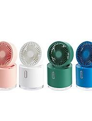 cheap -Automatic Fan Shaking Head Spray Humidifier Water Cooling Small Fan Desktop Mini Air Conditioning Fan 2000mAh Battery Gadgets
