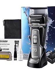 cheap -Electric Shaver Men's Body Washable Reciprocating Three-blade Electric Shaver