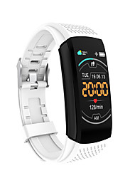 cheap -C8 Smart Band Fitness Bracelet IP 67 Heart Rate Monitor Blood Pressure Measurement Information Call Reminder Sedentary Reminder Alarm Clock for Android iOS Men Women