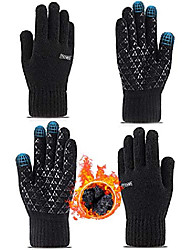 cheap -2 pairs womens mens gloves winter touch screen gloves driving running texting