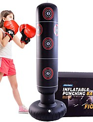 cheap -63 Inflatable Kids Punching Bag Standing Boxing Bag of Thick PVC Material Great for Kids Primary Boxing Emotion Release