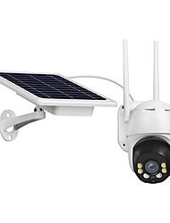 cheap -Outdoor Wireless WiFi IP Camera Waterproof 1080P Pan Tilt Security Camera Solar Battery Powered 2 Way Audio Surveillance Camera