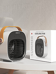 cheap -Portable Desktop Air Conditioner Water Mist Fan Mini Air Cooler USB Charging 95AC
