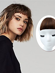 cheap -two-dimensional comics bangs round face natural invisible repair marks on eyebrows air bangs factory direct sales