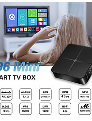 cheap -Smart TV Box Android 9.0 TV Box T96mini Support H.265 RK3229 16GB 8GB