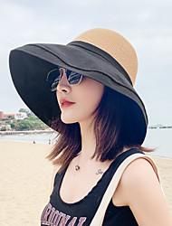 cheap -Sun Hat Hiking Hat Summer Outdoor Hat Black Blue Yellow for Camping / Hiking Fishing Climbing