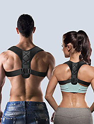 cheap -Medical Adjustable Clavicle Posture Corrector Men Woemen Upper Back Brace Shoulder Lumbar Support Belt Corset Posture Correction