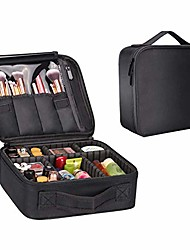 cheap -travel makeup train case lomezi,makeup cosmetic case organizer portable artist storage bag with adjustable dividers for cosmetics makeup brushes toiletry jewelry digital accessories