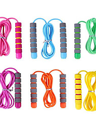 cheap -Jump Rope for Kids 6 Pack Adjustable Soft Skipping Rope Training Outdoor Activity Segmented Fitness Skipping Rope for Boys Girls