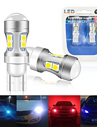 cheap -2PCS W5W T10 LED Canbus Bulbs 194 168 For Car Reading Lights Interior Lamp 3030 10SMD Parking Lighting Bulb car Accessories light 12v